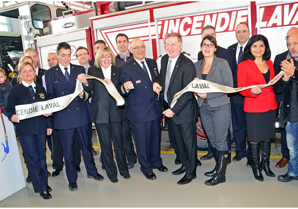 Laval's new No. 2 fire hall will serve Chomedey