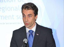 Laval city councillor for Laval-les-Îles Nicholas Borne.