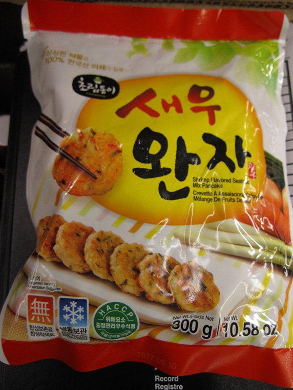 RECALL:  Choripdong brand frozen seafood products recalled due to undeclared egg