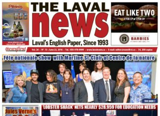 Front page image of The Laval News Volume 24 Number 13
