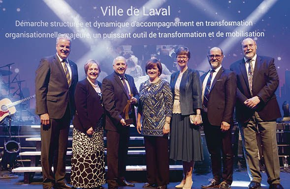 The City of Laval won an UMQ Award for human resources, management and contract operations
