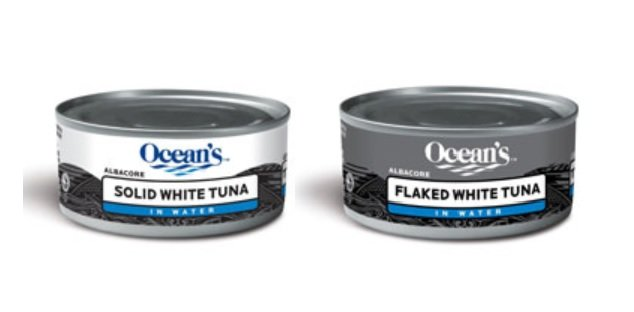 RECALL: Ocean's brand Flaked White Tuna and Solid White Tuna may be unsafe due to leaking cans