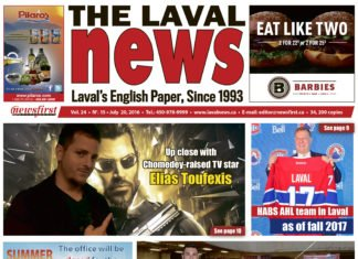 Front page image of The Laval News Volume 24 Number 15