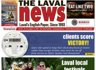 Front page image of The Laval News Volume 24 Number 16