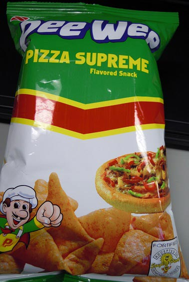 Pee Wee brand Pizza Supreme Flavored Snack and Ricoa brand cocoa candies recalled due to undeclared milk