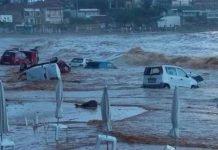 Flood in Kalamata