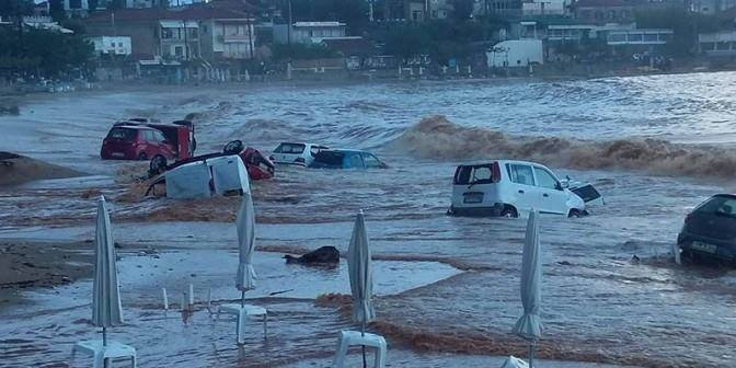 Flood in Kalamata