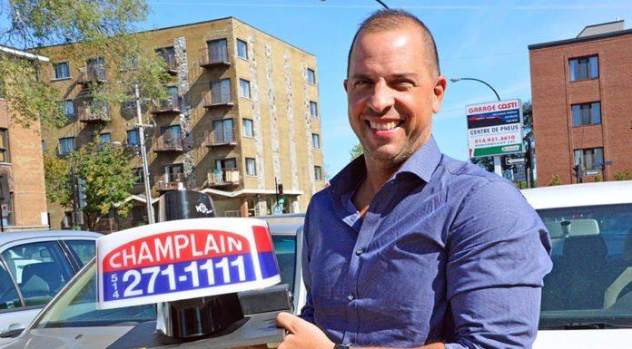 Champlain Taxi president George Boussios