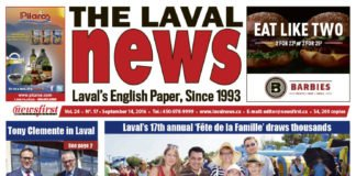 Front page image of The Laval News Volume 24 Number 18