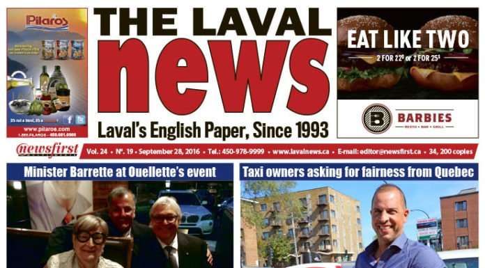 Front page image of The Laval News Volume 24 Number 19