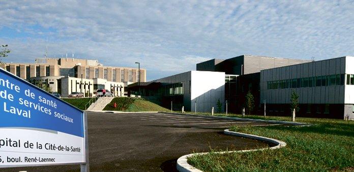 Laval's Cité de la Santé Hospital