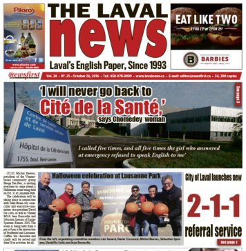 Front page image of The Laval News Volume 24 Number 21