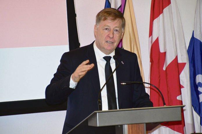 Laval mayor Marc Demers