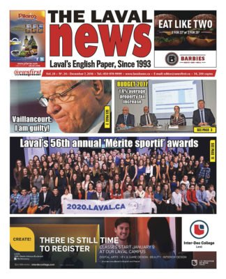 Front page image of The Laval News Volume 24 Number 24