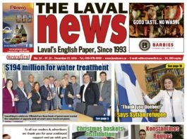 Front page image of The Laval News Volume 24 Number 25
