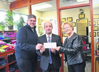 Karidogiannis Agape $450 donation.
