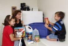 Family Preparing for emergency