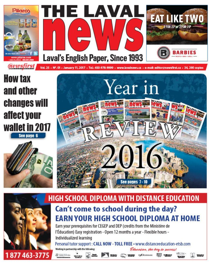 Front page image of The Laval News Volume 25 Number 01