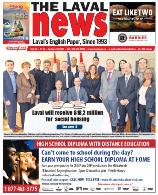 Front page image of The Laval News Volume 25 Number 02