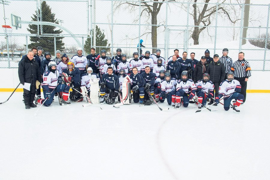 City of Laval for this annual hockey classic participants