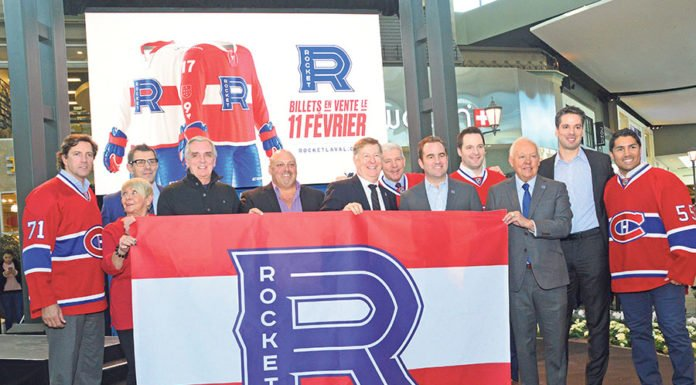 Laval Rocket unveils new logo and team uniforms