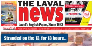 Front page image of The Laval News Volume 25 Number 06