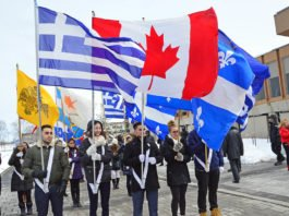 Greek Independence Day parade