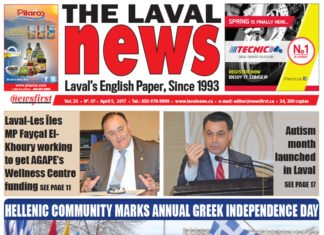 Front page image of The Laval News Volume 25 Number 07