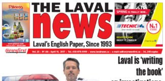 Front page image of The Laval News Volume 25 Number 08