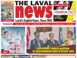 Front page image of The Laval News Volume 25 Number 09