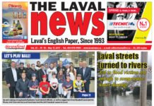 Front page image of The Laval News Volume 25 Number 10