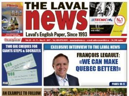 Front page image of The Laval News Volume 25 Number 11