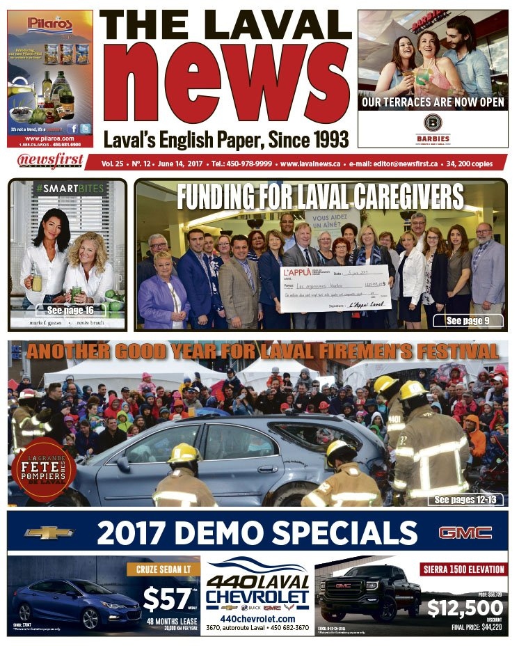 Front page image of The Laval News Volume 25 Number 12