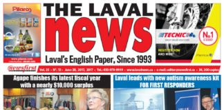 Front page image of The Laval News Volume 25 Number 13