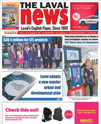 Front page image of The Laval News Volume 25 Number 15