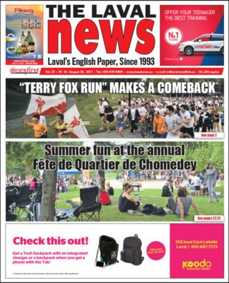 Front page image of The Laval News Volume 25 Number 16
