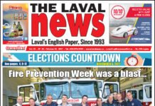 Front page image of The Laval News Volume 25 Number 20