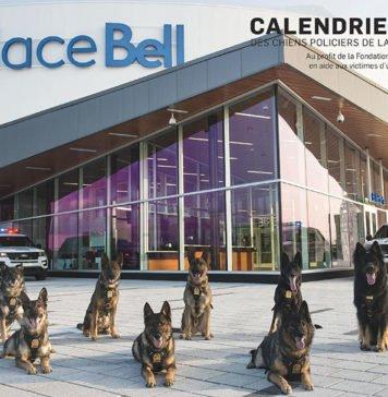 Laval Police Dog Calendar 2018