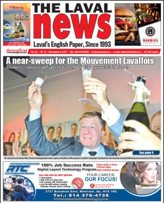 Front page image of The Laval News Volume 25 Number 21