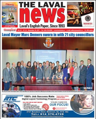 Front page image of The Laval News Volume 25 Number 22