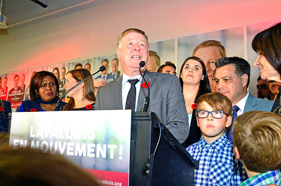 Laval election night 2017