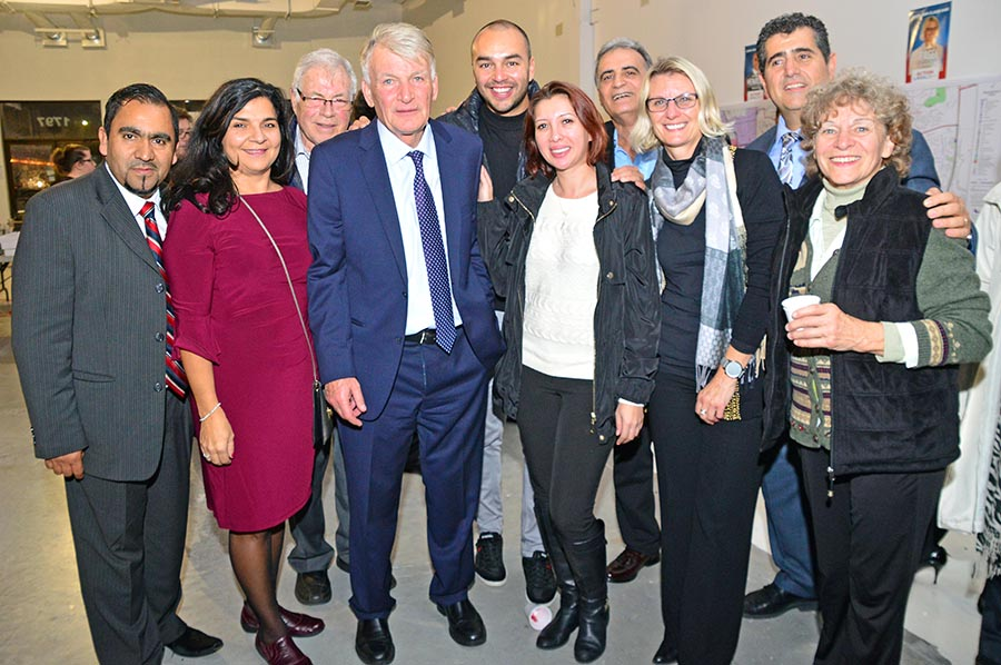 Laval election night 2017.