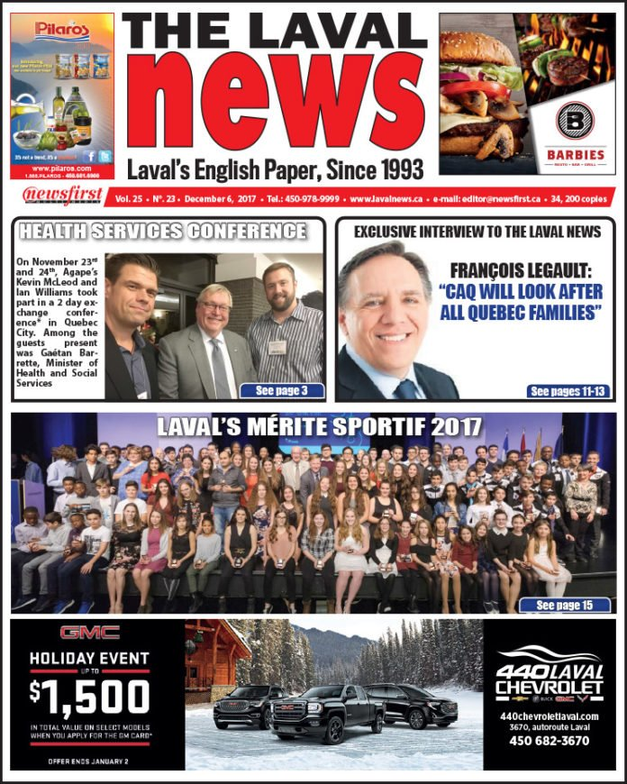 Front page image of The Laval News Volume 25 Number 23