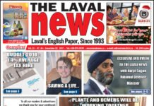 Front page image of The Laval News Volume 25 Number 24