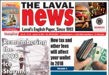 Front page image of The Laval News Volume