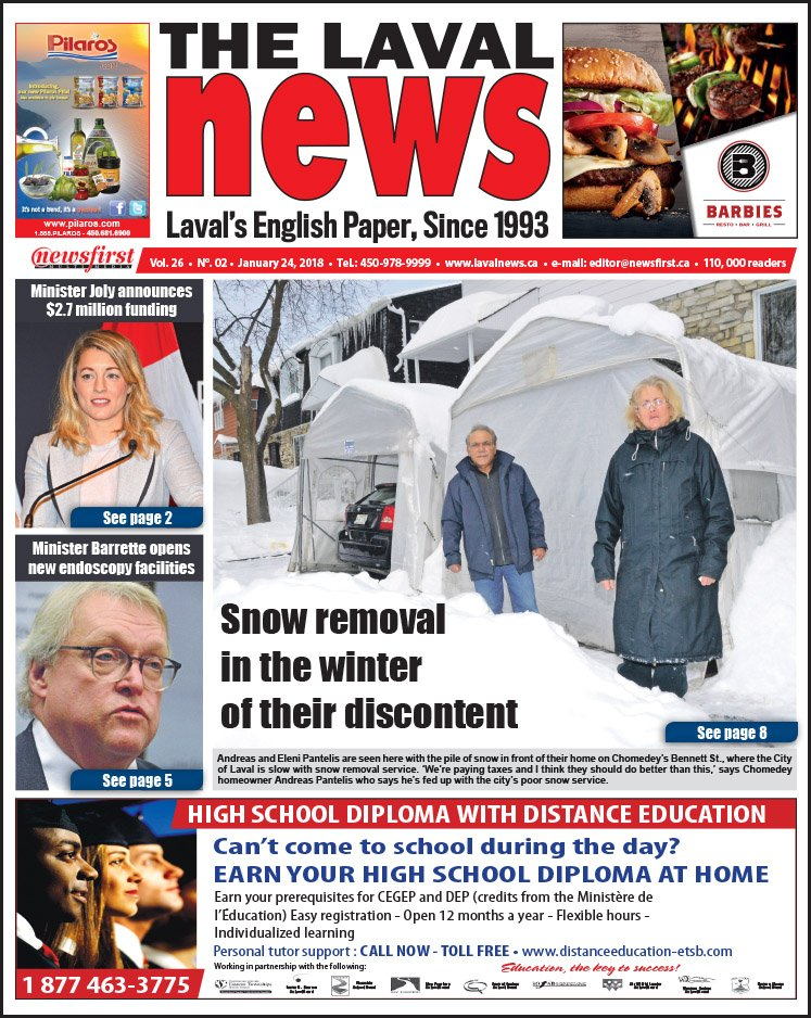 Front page image of The Laval News Volume 2