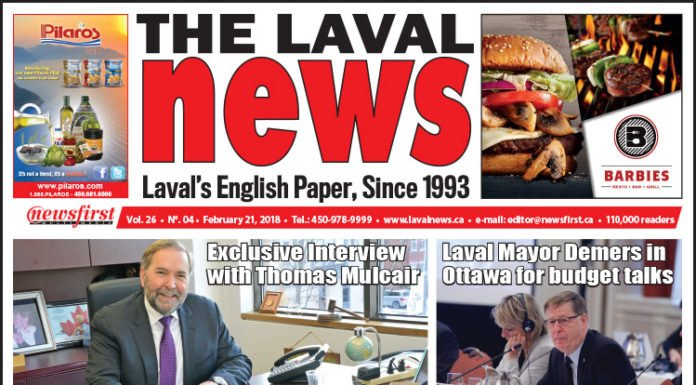 Front page image of The Laval News Volume 04