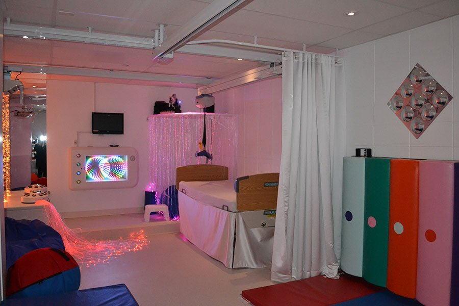 'Snoezelen' room launched at Résidence Louise-Vachon