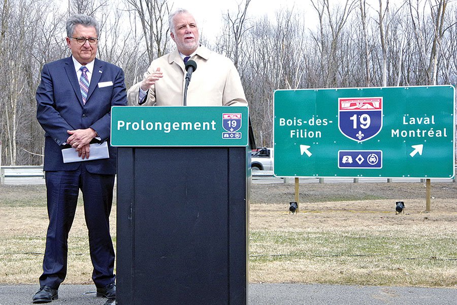 Autoroute 19 extension project green lighted