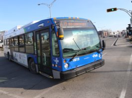 Bus in Laval Qc.